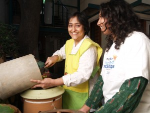 Poonam Kasturi at work