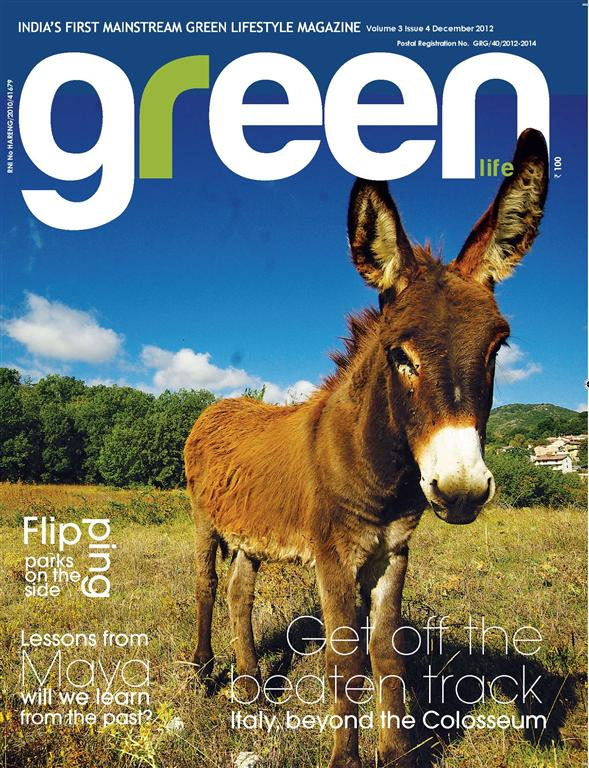 Green Life, India's first green lifestyle magazine, features Ek Titli