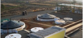 biogas bottling project